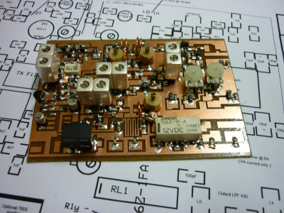 70cm / 432 MHz Transverter Project